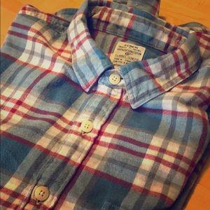 Cozy, Classic- JCrew flannel Shirt